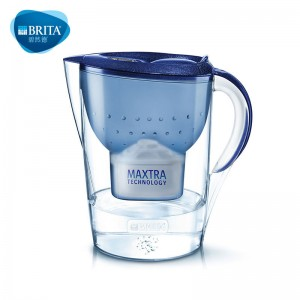 碧然德 净水器 家用过滤水壶 净水壶 Marella 金典系列 3.5L 一壶一芯(蓝色)