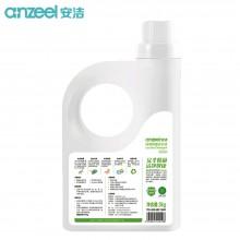 安洁(Anzeel)洗衣液 深度除菌无残留 护色柔顺 温和不伤手洗衣液3kg