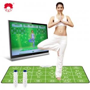 小霸王 跳舞毯 瑜伽跳舞毯 D600B 双人互动体感游戏机 健身运动家用感应电玩