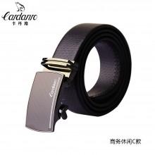 卡丹路 腰带 真皮自动扣腰带 商务休闲皮带