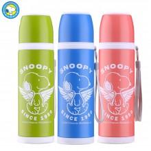 史努比(Snoopy)保温杯 便携水杯 天使系列 不锈钢保温水杯 食品级安全 500ML