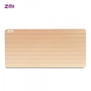 紫米 ZMI 10000毫安 移动电源 充电宝 聚合物 紫米电子 PB810 金色