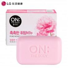 LG 香皂 韩国进口 安宝笛 樱花香皂 清洁滋润 樱花清香 90g  (新老包装随机发)