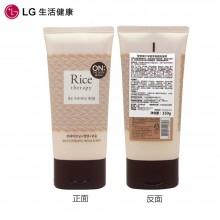 LG 洗面奶 安宝笛 大米胚芽 亮颜洁面乳 150g(韩国 on the body)