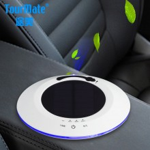 途美 车载净化器T2 汽车用氧吧 车内除甲醛 香薰 加湿 太阳能负离子空气净化器