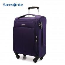 新秀丽 软拉杆箱SN-611E 行李箱 旅行箱 20寸-紫色
