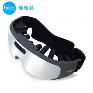 倍轻松(breo)眼部按摩器 iSee100 改善视力 预防近视 释放眼部疲劳 眼保仪 按摩眼镜