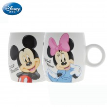 迪士尼 水杯 米奇米妮 陶瓷水杯 马克杯 咖啡杯 茶杯QQ杯