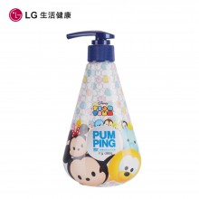 LG竹盐 牙膏 啫喱型 清雅薄荷 芳香四溢 按压式牙膏285g