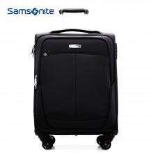新秀丽 拉杆箱 SN-612E 拉杆软箱 20寸行李箱 黑色