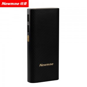 纽曼(Newmine)移动电源Z100 1万毫安安全充电宝 双输出 LED照明
