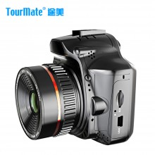 途美(Tourmate)电子狗行车记录仪一体机 D600 电子预警测速
