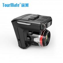 途美(Tourmate)电子狗行车记录仪一体机 D800 电子预警测速