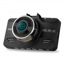 凌度 行车记录仪F8 超高清 智能夜视 语音预警 停车监控 碰瓷克星 黑色