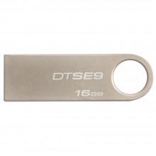 金士顿(Kingston) 优盘DTSE9 金属材质 精巧时尚 稳固可靠 U盘