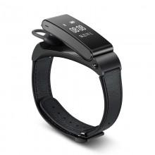 华为(HUAWEI)手环 Talkband B2 智能手环 商务版 牛皮腕带*