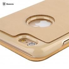 倍思 手机壳 iPhone6简约皮套 轻薄设计 适用于苹果6