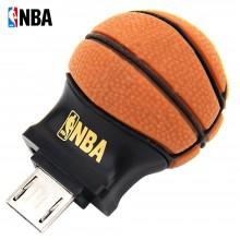 NBA 手机U盘 OTG 安卓手机优盘电脑(U盘)8GB 迷你篮球外形*