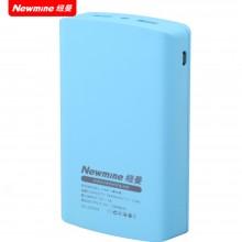 纽曼(Newmine) 移动电源(充电宝)A100J 柔软质感 双输出 智能电路 超强兼容 10000毫安