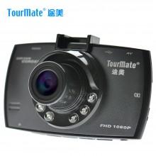 途美(Tourmate)行车记录仪G11 高清广角夜视 碰瓷克星