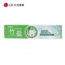 LG生活健康 竹盐 固齿源固齿牙膏115g×2(两支装)