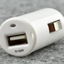 品胜 车充TS-D031 精巧便携 手机车载点烟孔 单口USB充电器