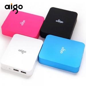 爱国者(aigo)移动电源(充电宝) TN104 双口输出电源10000mAh
