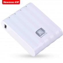 纽曼(Newmine)移动电源 S10 双USB设计充电宝 10400mAh