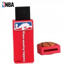NBA 优盘(U盘)软胶 防水防震设计 手感舒适