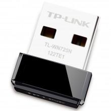 TP-LINK 无线网卡 随身WiFi TL-WN725N 随身WiFi迷你USB无线网卡 WiFi接收器发射