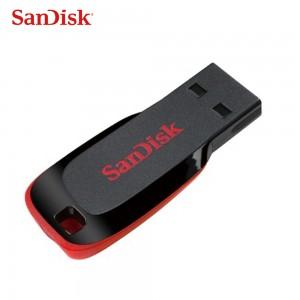 闪迪(SanDisk)U盘 8G/16G/32G 酷刃迷你纤薄 优盘