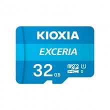 铠侠(Kioxia)32GB TF(microSD)存储卡 EXCERIA 极至瞬速系列 U1 读速100M/S 支持高清拍摄