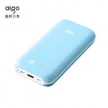 爱国者(aigo)T20000移动电源小巧便携20000毫安大容量输出聚合物